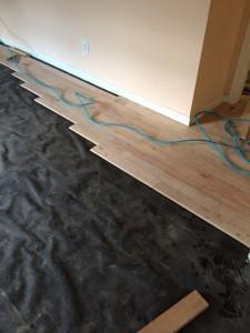 prepare flooring