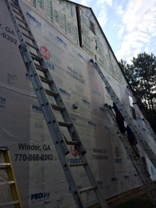 House wrapping