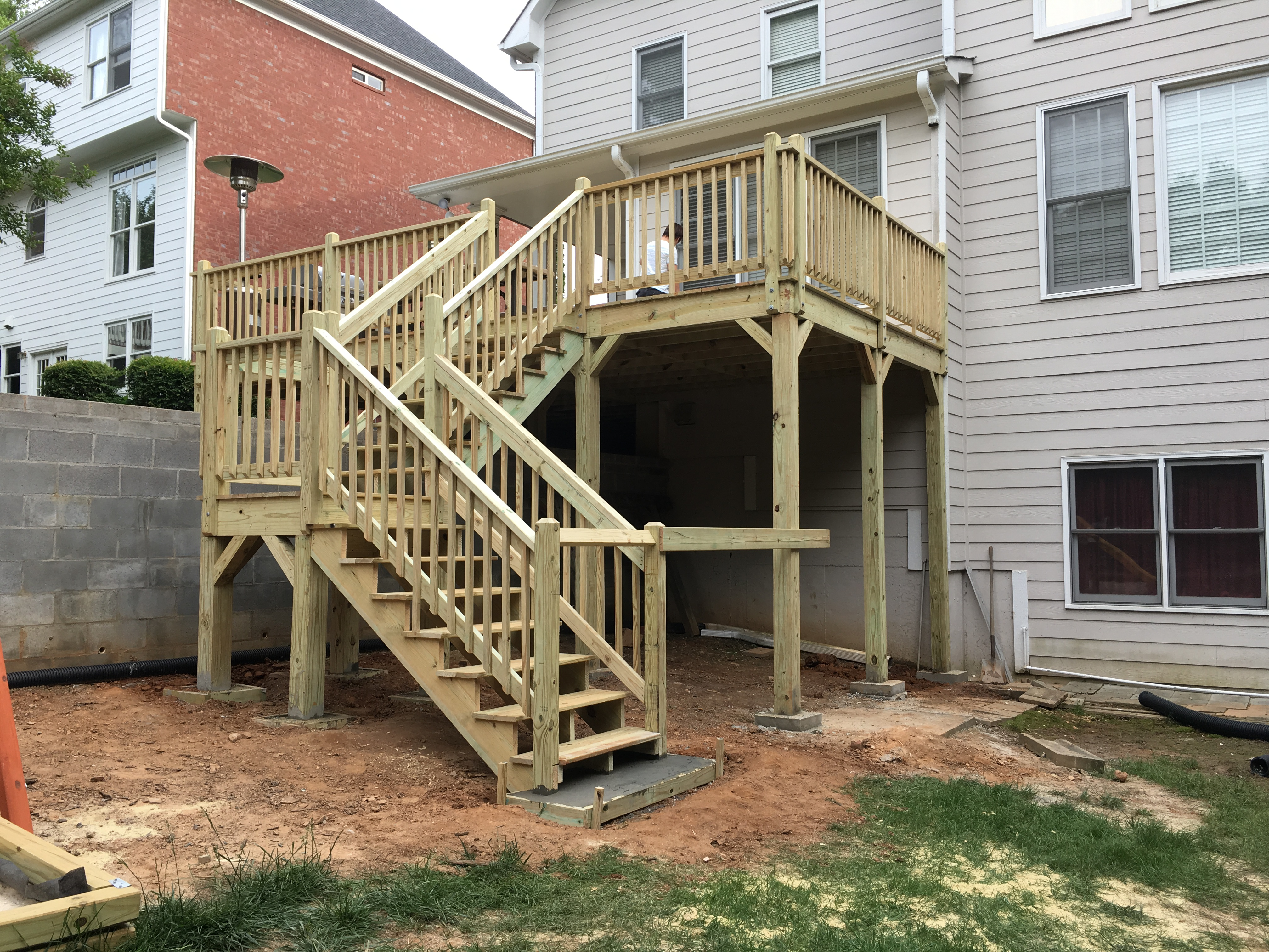 deck contractor in Lawrenceville GA